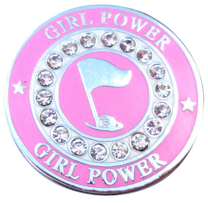 Girl Power w/ Crystals Ball Marker main pic