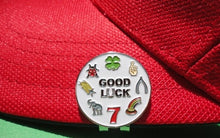 Good Luck Ball Marker hat brim pic 2