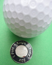 Great Expectations Navy Blue Ball Marker golf ball pic