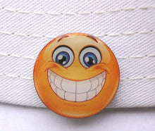Big Grin Smiley Face Marker hat compairson pic 1
