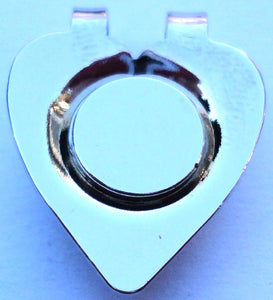 Heart Shaped Magnetic Hat Clip main pic