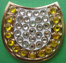 Horseshoe with Crystals Ball Marker product pic 2