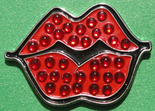 Hot Lips Red Ball Marker W/Crystals product pic 2
