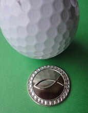 Infinity Fish with Crystals Ball Marker golf ball pic