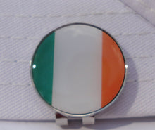 Irish Flag Ball Marker hat brim pic 1