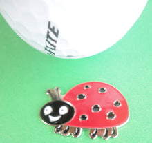 Lady Bug Ball Marker golf ball pic