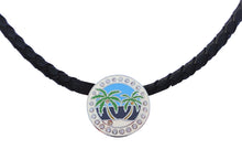 Island Paradise w/ Crystals Ball Marker necklace pic 2