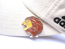 Lion Ball Marker hat brim pic