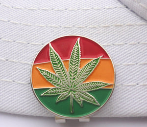 Mary Jane Rasta Ball Marker hat brim pic