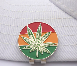 Mary Jane Rasta Ball Marker hat brim pic 2