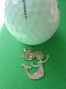 Mermaid Ball Marker golf ball pic 1