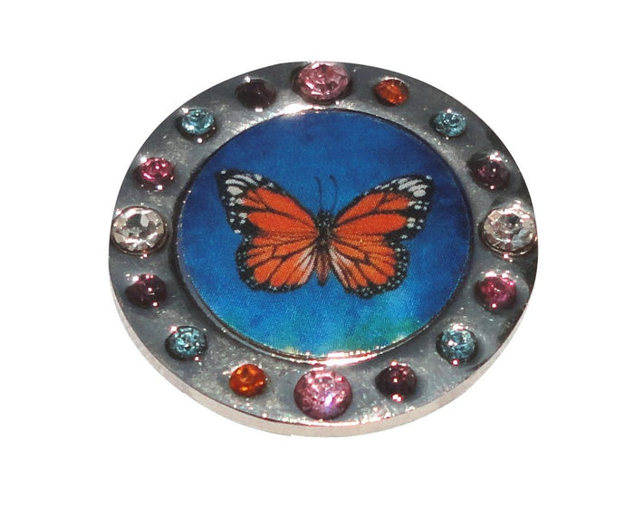 Monarch Watercolor Crystal Ball Marker