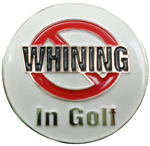 NO WHINING Ball Marker main pic
