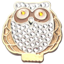 Owl w/ Crystals Ball Marker product pic 1