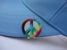 Peace Sign Ball Marker hat brim pic