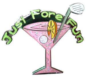 Pink Martini Glass Ball Marker product pic 4