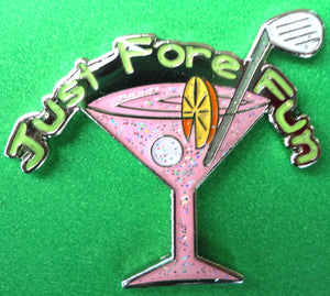 Pink Martini Glass Ball Marker product pic 5