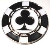 Poker Chip Clubs Ball Marker main pic 1