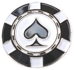 Poker Chip Spades Ball Marker product pic 1