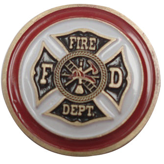 Fire & Police Department Double Sided Ball Marker product pic