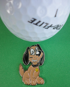 Puppy Ball Marker golf ball pic