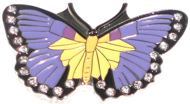 Purple Butterfly Ball Marker