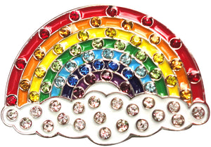 Rainbow with Crystals Ball Marker main pic