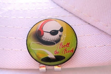 Roll the Rock Ball Marker hat brim pic 1