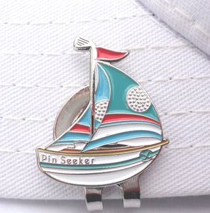 Sailboat Ball Marker