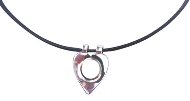 Black Cord Necklace with Heart Shaped Magnet product pic 1