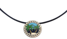 Island Paradise w/ Crystals Ball Marker necklace pic