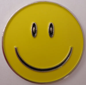 Smiley Face Yellow Ball Marker product pic 1