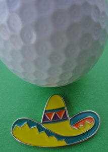 Sombrero Ball Marker golf ball pic