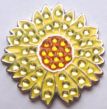 Sunflower w/Crystals Ball Marker product pic 1