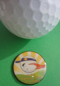 SuperBall Ball Marker golf ball pic