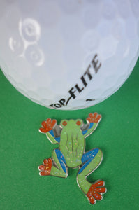 Tree Frog Ball Marker golf ball pic 1