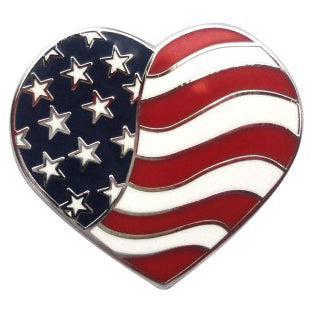 USA Heart Marker Ball Marker main pic