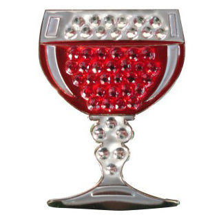 Wine Glass Crystal Ball Marker main pic
