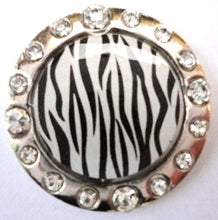 Zebra Stripes w/ Crystals Ball Marker product pic 1