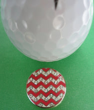 Zig Zag Ball Marker golf ball pic 2