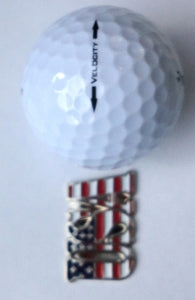 USA Marker golf ball comparison pic