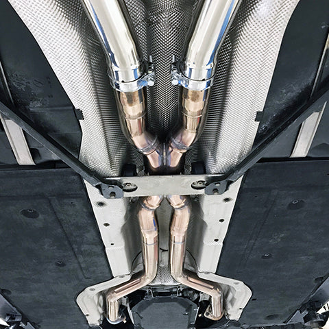 EXHAUST SYSTEM E600NA prototype 6th