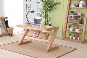 Zara Oak Small Study Desk - oak-furniture-store-sofa