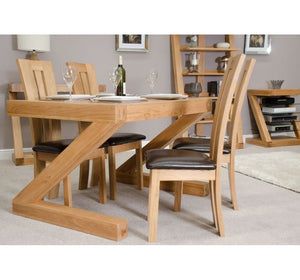 Zara Oak Dining Table - oak-furniture-store-sofa