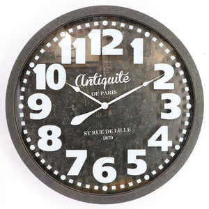 BIG SIZE ANTIQUITE WALL CLOCK - Oak Furniture Store & Sofas