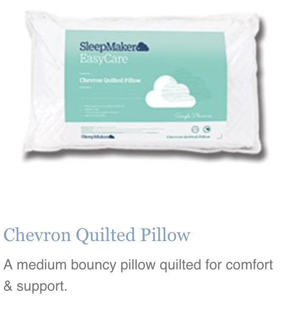 Chevron Quilted Pillow