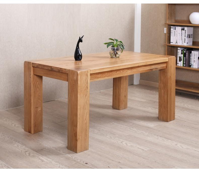 Cuba Solid Oak Large Dining Table