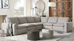 Dallas Corner Shape Sofa - Oak Furniture Store & Sofas