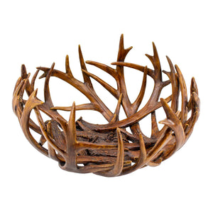 DECORATIVE ANTLER CENTREPIECE - Oak Furniture Store & Sofas