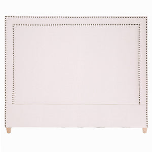 GEORGE LINEN HEADBOARD IN NATURAL - QUEEN - Oak Furniture Store & Sofas